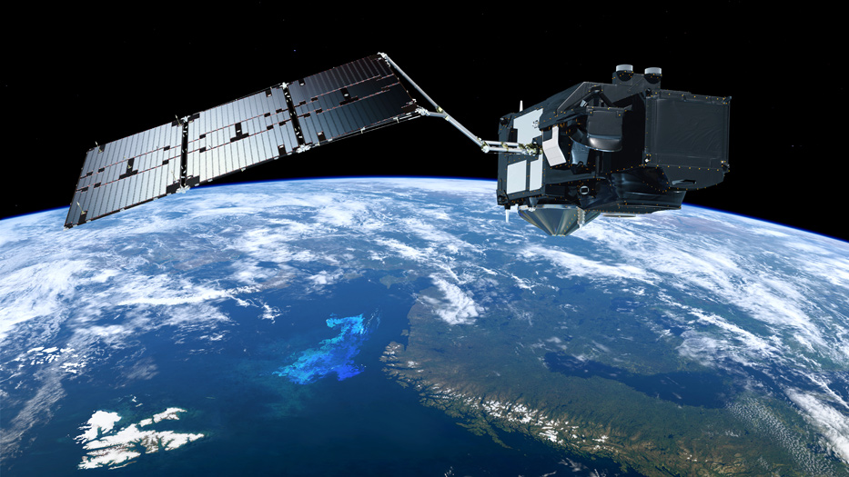 Sentinel-3 Satellit